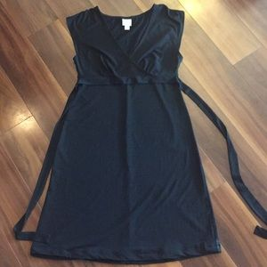 Merona (target) dressy black dress.